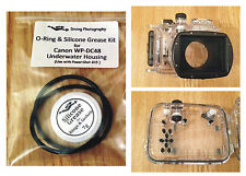 O-ring & Silicone Grease Kit for Canon WP-DC48 Diving Underwater Housing Case