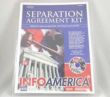 Separation Agreement Kit Info America CD