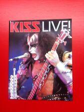 Kiss 1996 Live! Magazine