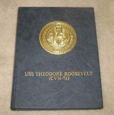 1986 CVN-71 V 1 USS THEODORE ROOSEVELT NAVY CRUISE BOOK