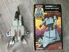 Super GoBots Leader Tonka 7251 1985 Box Antique Vintage Classic Toy Transformer