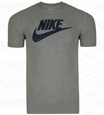 New Men's Nike Swoosh Logo Fitted T-Shirt, Top - Retro Vintage Branded Sports
