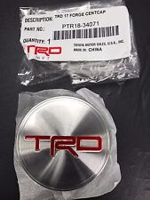 "New OEM TRD Embossed Center Cap 4Runner Tundra 17"" Off Road Wheel PTR18-34071"
