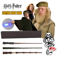 """14"""" Harry Potter Magic LED Wand IN Box Hermione Dumbledore Cosplay Xmas Gift UK"""