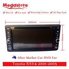 "6.2"" Car DVD GPS Navigation Head Unit Stereo Radio For Toyota RAV4 2001-2005"