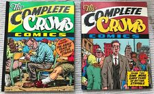 The Complete Crumb Comics by: Crumb, Robert/ Limited Ed/ 2 Vol Set/ Signed