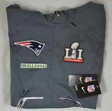Large New England Patriots Super Bowl 51 LI Tom Brady Mens Nike Pregame Vest L