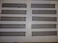 Hornby Steel Track R600 Standard Straight x10