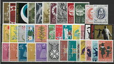 Netherlands  1960-5     Mint  Stamps   -  MNH-VF #  Y.T.  Lot