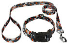 Country Brook Design® Deluxe Orange Digital Camo Dog Collar & Leash