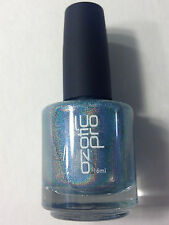 NEW OZOTIC PRO HOLO 512 SILVERY BLUE HOLOGRAPHIC NAIL POLISH LACQUER ENAMEL 16ML