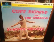 CLIFF RICHARD & THE SHADOWS summer holiday 1962 UK STEREO 1ST PRESSING w/INNER