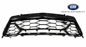 2016-2018 Chevrolet Camaro SS Body Colored Front Grille 84040596 Black OEM GM