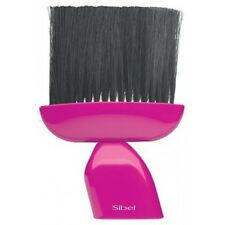 Sibel Barber Hair Neck Brush Pink Handle OUST