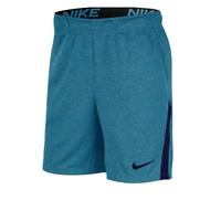 Nike Training Shorts Mens New Dri Fit Quick Dry 8 Inch Gym Blue Small or Medium