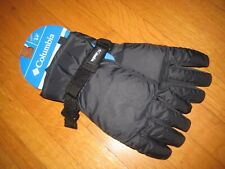 New Columbia Youth Mountain Home Core Black Gloves Size Small Nwt Boy Girl