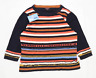 Phase Eight Womens Size 14 Striped Cotton Blend Multi-Coloured Top (Regular)