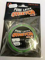 frenzee stretch solid latex elastic 0.9 mt6 elastic GREEN