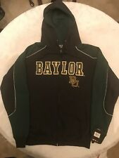 Baylor Bears Front Zip Hoodie Colosseum Athletics Embroidered Size: X-Large NWT