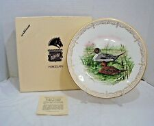 Boehm Collector Plate Water Birds Collection American Pintails In Box