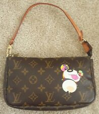Louis Vuitton Takashi Murakami panda monogram canvas pochette