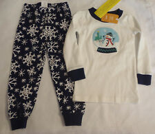 Gymboree Snow Globe 2T Christmas Winter Pajama Set NWT Long Sleeves Pants