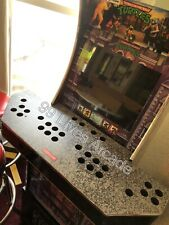 Hand Made Arcade1up 4 Player Control Panel With Street Fighter Vinyl Chrome Tmol