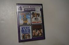 4 Movie Marathon: Dark Comedy Collection Serial Mom / Nurse Betty / Very Bad / &