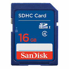 16GB SanDisk SD Class 4 Secure Digital Standard Memory Card Wholesale ME