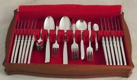 SOUTH SEAS Design COMMUNITY Sheffield Silver Service 50 Piece Canteen of Cutlery