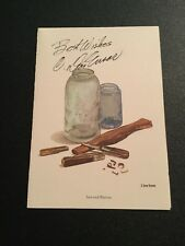 C. DON ENSOR JARS AND KNIVES PRINT REPRODUCED ON NOTE CARD SIGNED BY ARTIST