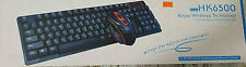 HK6500 Tastiera gaming Wireless 2.4G keyboard&mouse and combo NUOVA