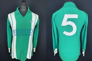 Vintage 80's NR Acrylic Football Shirt Men's Size M Maglia Calcio Soccer Jersey
