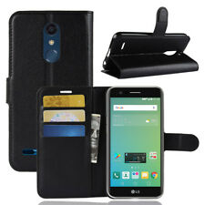 Wallet PU Leather Flip Card Hold Case Cover For Telstra Signature 2 /LG K10 2017