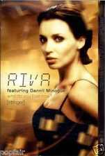 RIVA DANNII MINOGUE - WHO DO YOU LOVE NOW? (STRINGER) 2001 UK CASSINGLE SLIP-CAS