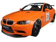BMW M3 GTS 25 YEARS ANNIVERSARY FIRE ORANGE 1/18 DIECAST MODEL BY KYOSHO 08739