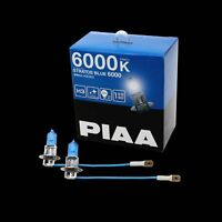 HZ503 PIAA H3 STRATOS BLUE 6000 HEADLIGHT FOGLIGHT BULBS (x2) 6000K XENON EFFECT