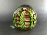 Unusual Vintage Fratelli Toso Murano Paperweight