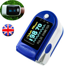 Fingertip Pulse Oximeter Blood Oxygen Saturation Monitor SpO2 Meter with Battery