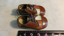 VINTAGE LITTLE MISS BOSTON LEATHER BABY SHOES SIZE 2