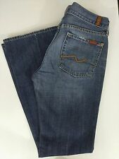 7 FOR ALL MANKIND Women's Flare Jeans - Medium Wash - Size 28