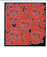 Bloc feuillet N° 104, coeurs Givenchy, faciale actuelle 4,25 euros