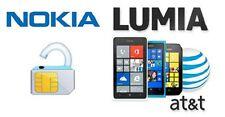 AT&T USA Nokia Lumia Unlock All Models CODES 520, 635, 900, 920,1020