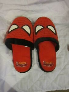 Pair of Spiderman slippers size L used