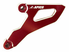 APICO FRONT SPROCKET DRIVE COVER HONDA CR250R 02-07 CRF250R 04-09 RED