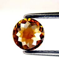0.42TCW 4.8 MM Cognac Red color Round Rose cut Africn Loose Natural Diamond