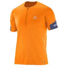 Salomon Agile Camiseta de manga corta para correr hombres deportiva Camisa