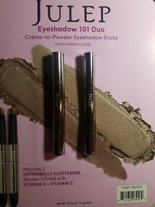 Julep Eyeshadow 101 Crème-to-Powder Eyeshadow Stick Color Bronze Shimmer/Taupe