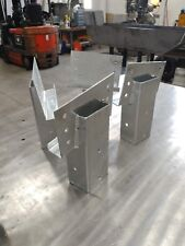 Deer Stand Elevator Brackets 4 Pieces Heavy Duty Galvanized