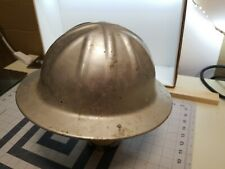 Vintage McDonald AluminumT Hard Hat Mine Safety Applian Co No Insides Shell Only